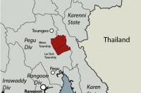 The area of the Bawgata dam project. (IMAGE: Free Burma Rangers)