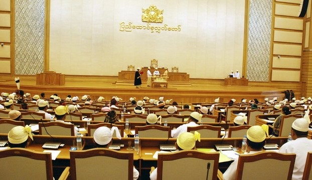 File photo of the Burmese Parliament's Upper House (Photo: Reuters)