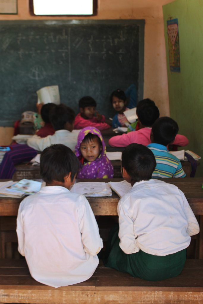 Children in a classroom in Northern Shan State. (Photo: Libby Hogan/ DVB).