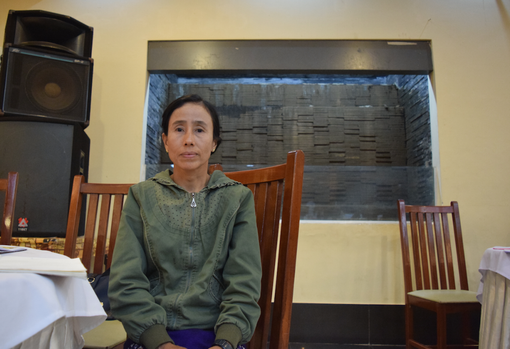 Amar Sein, an ethnic Palaung activist, says mega-dam projects in Shan State have disrupted lives and livelihoods. (Photo: Kimberley Phillips)